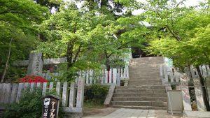 筑波山神社 参道石段