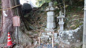 筑波山神社 楠木正勝の墓