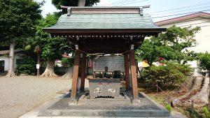 有鹿神社 本宮 手水舎