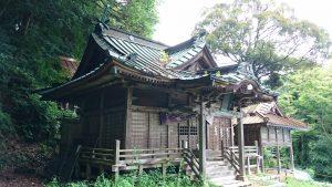 蚕影神社 拝殿