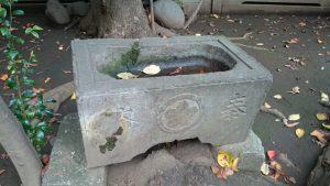 北野八幡神社 安政7年水鉢
