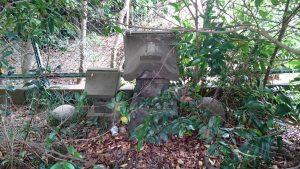 有鹿神社 中宮 小石祠