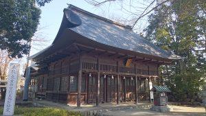 熊川神社 拝殿
