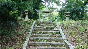 蚕影神社 二の鳥居