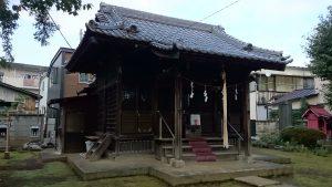 田柄天祖神社 社殿