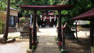 松が丘北野神社 二の鳥居