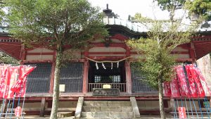 筑波山神社 日枝神社・春日神社拝殿