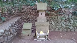 有鹿神社 奥宮 石祠