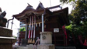 三輪厳嶋神社 拝殿