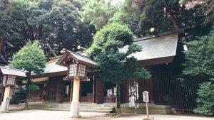 埼玉県護國神社 拝殿