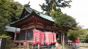 筑波山神社 日枝神社・春日神社拝殿全景