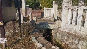 熊川神社 熊川分水