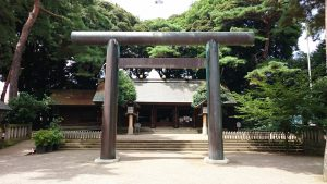 埼玉県護國神社 二の鳥居