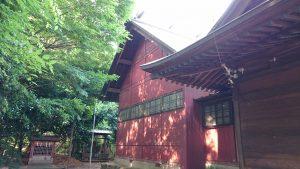 有鹿神社 本宮 本殿覆屋