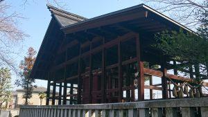 熊川神社 本殿覆殿 西側
