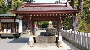 筑波山神社 手水舎