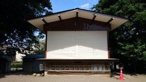 松が丘北野神社 神楽殿