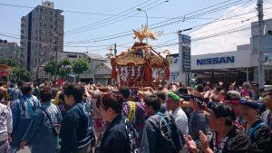 三輪厳嶋神社 2017(平成29)年神輿渡御