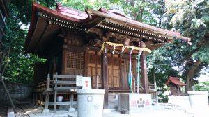 松が丘北野神社 拝殿