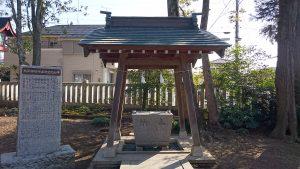 熊川神社 手水舎