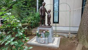 埼玉県護國神社 出征兵士之像