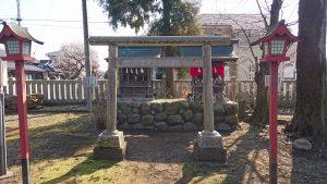 熊川神社 稲荷神社・山神社・天神社・八雲神社 鳥居