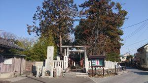 熊川神社 鳥居と社号標