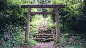 蚕影神社 一の鳥居