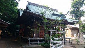 有鹿神社 本宮 拝殿