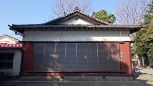 熊川神社 神楽殿