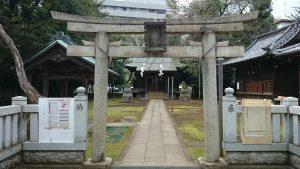北野八幡神社 二の鳥居