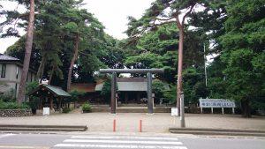 埼玉県護國神社 境内全景
