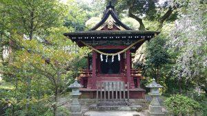 筑波山神社 厳島神社