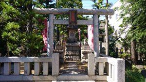 新宿日枝神社 よなき稲荷社 鳥居