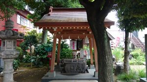 大島稲荷神社 手水舎