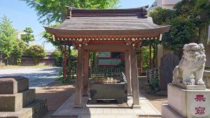 新宿日枝神社 手水舎