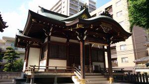 綾瀬北野神社 拝殿
