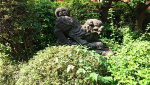 東大島神社 狛犬 吽