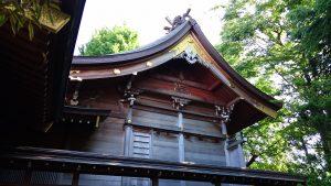 新宿日枝神社 本殿