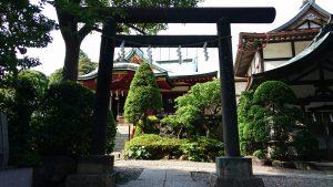 東大島神社 鳥居