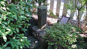東大島神社 六角石塔