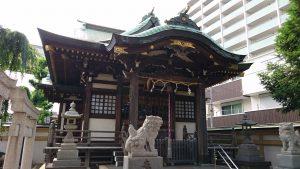 綾瀬神社 拝殿