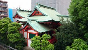 大島稲荷神社 社殿全景