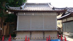 綾瀬北野神社 神楽殿
