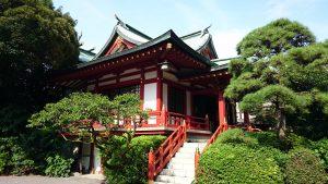東大島神社 社殿全景
