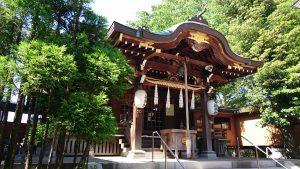 青砥神社 拝殿