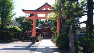 新宿日枝神社 二の鳥居