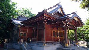 新宿日枝神社 拝殿・幣殿