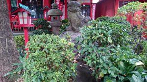大島稲荷神社 狛犬 吽