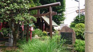 大島稲荷神社 佐竹神社 鳥居